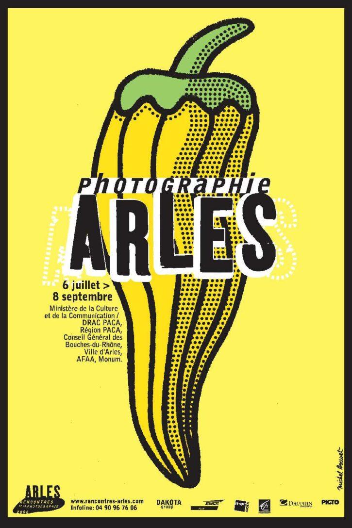 Rencontres d'Arles 2002 – Affiche 120×176 cm