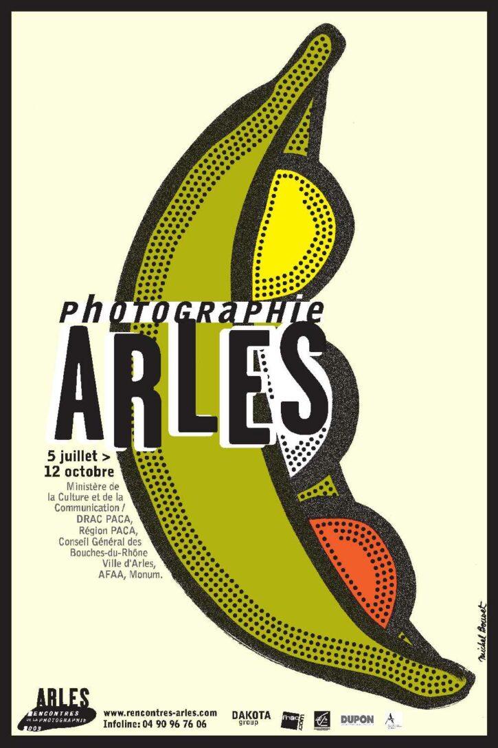 Rencontres d'Arles 2003 – Affiche 70×100 cm