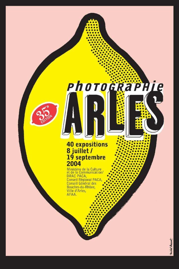 Rencontres d'Arles 2004 – Affiche 70×100 cm