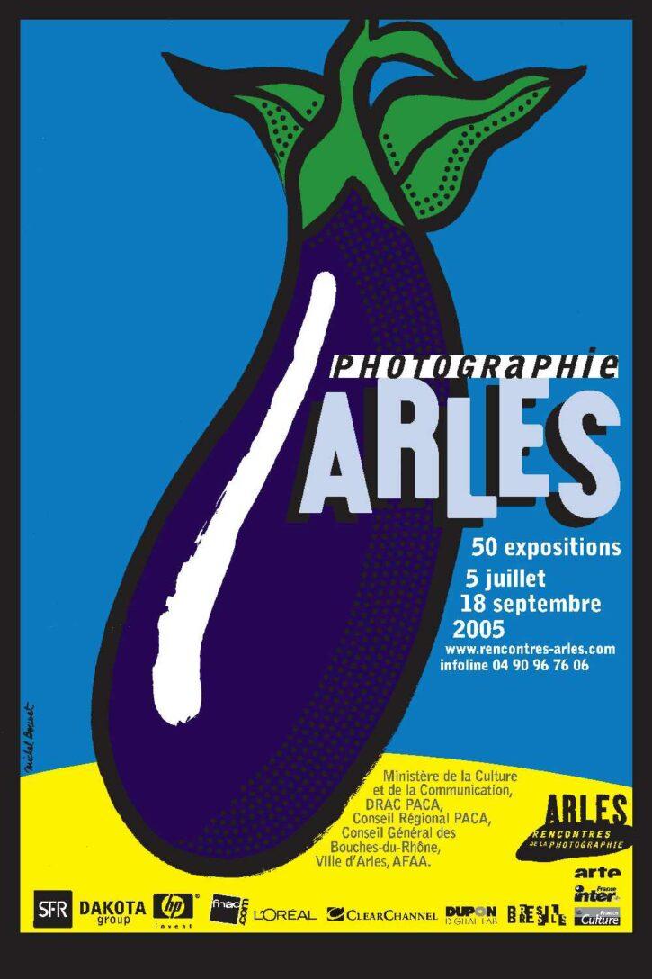 Rencontres d'Arles 2005 – Affiche 70×100 cm