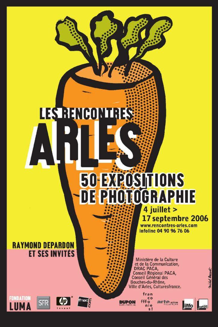 Rencontres d'Arles 2006 – Affiche 70×100 cm