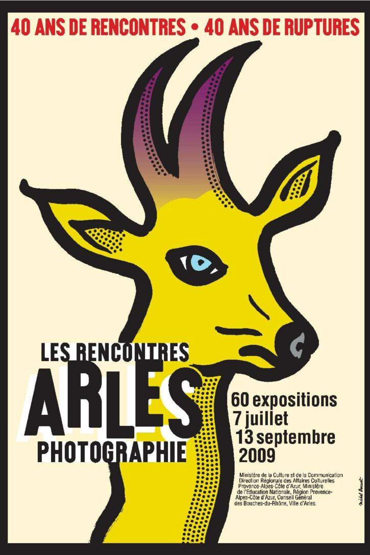 Rencontres d'Arles 2009 – Affiche 70×100 cm
