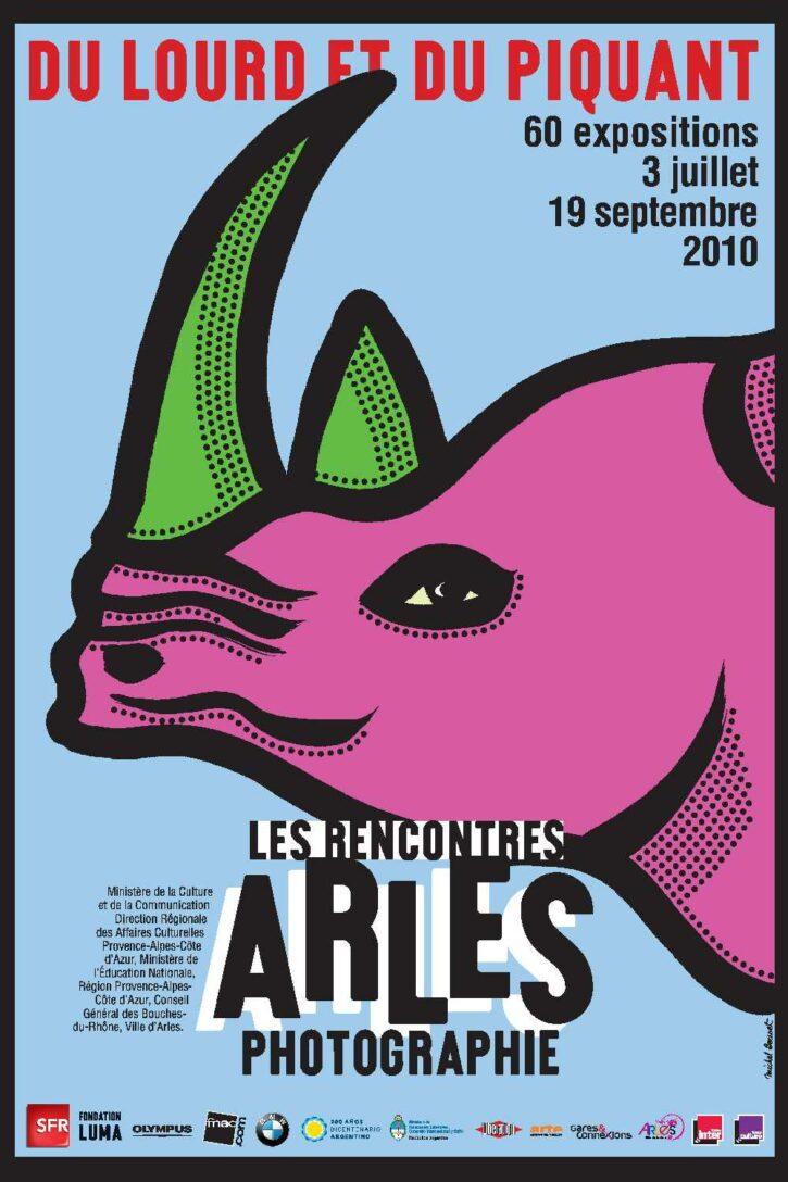 Rencontres d'Arles 2010 – Affiche 120×176 cm
