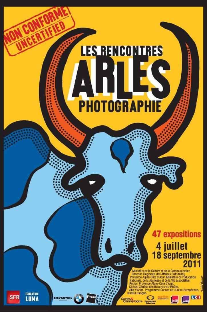 Rencontres d'Arles 2011 – Affiche 120×176 cm