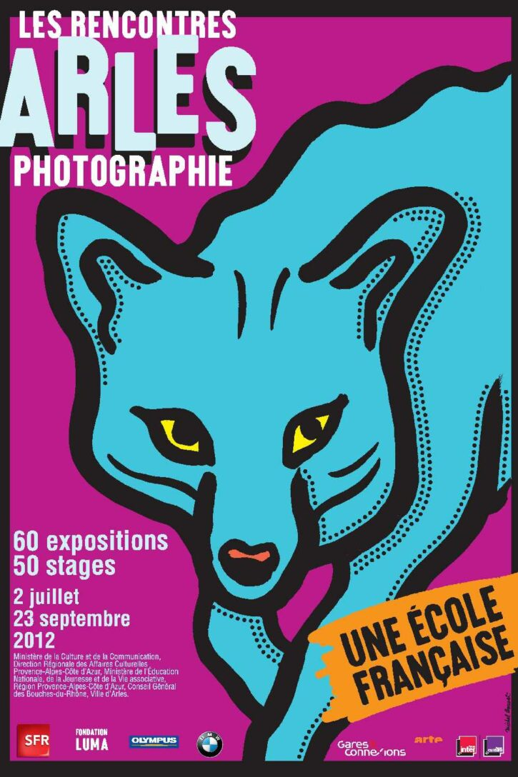 Rencontres d'Arles 2012 – Affiche 120×176 cm
