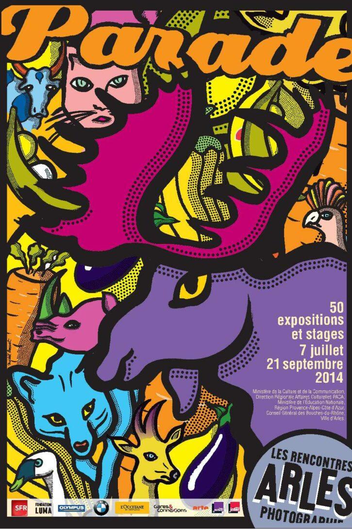 Rencontres d'Arles 2014 – Affiche 70×100 cm