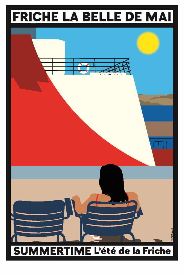 Summertime – Affiche 70×100 cm
