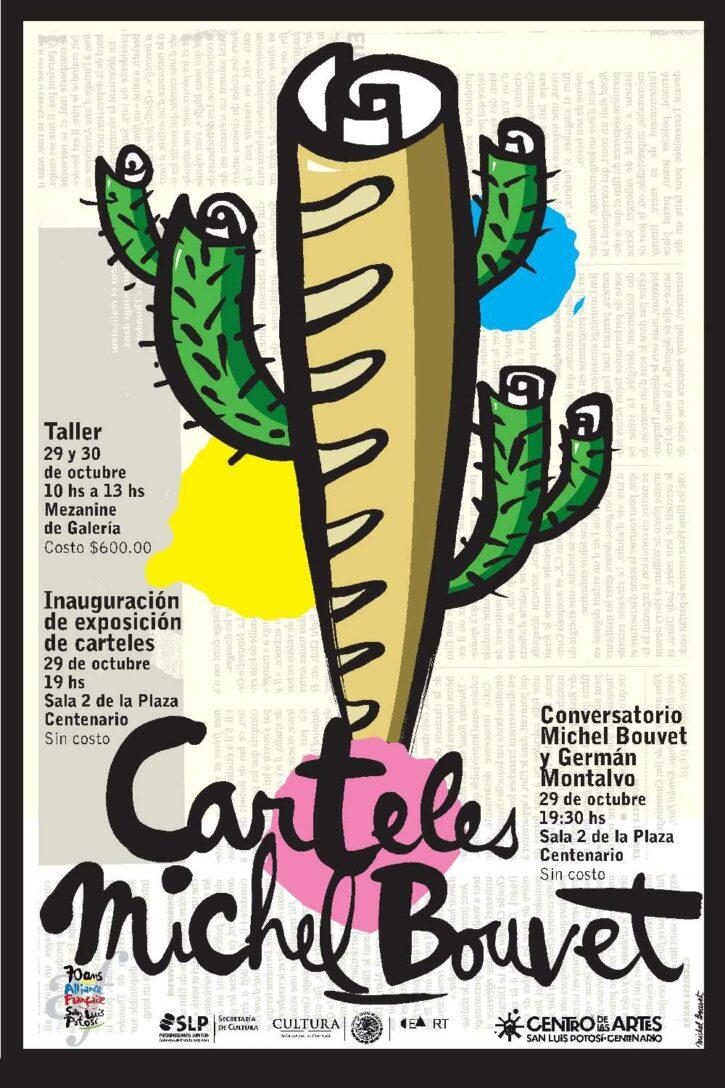 Carteles Michel Bouvet – Affiche 70×100 cm