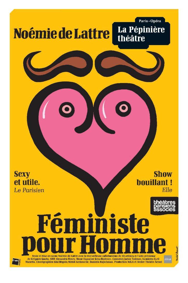 Féministe pour homme – Affiche 70×100 cm