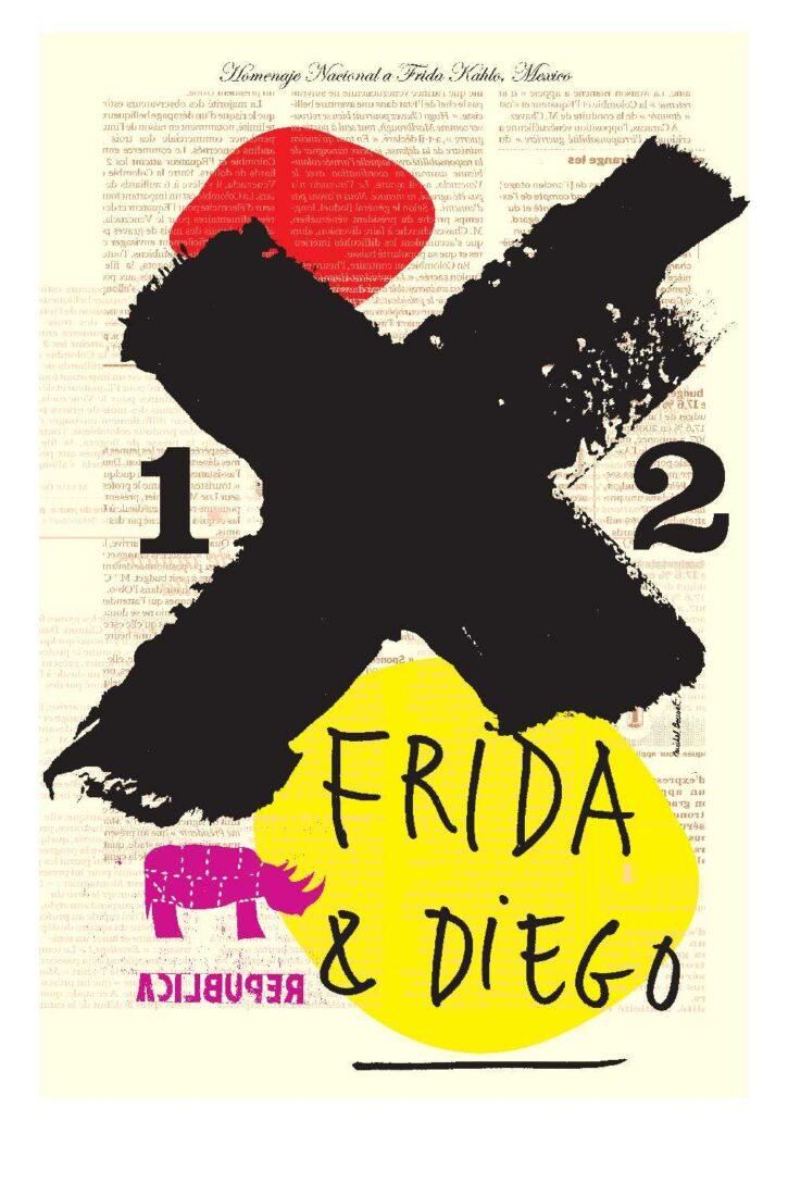 Frida & Diego – Affiche 70×100 cm