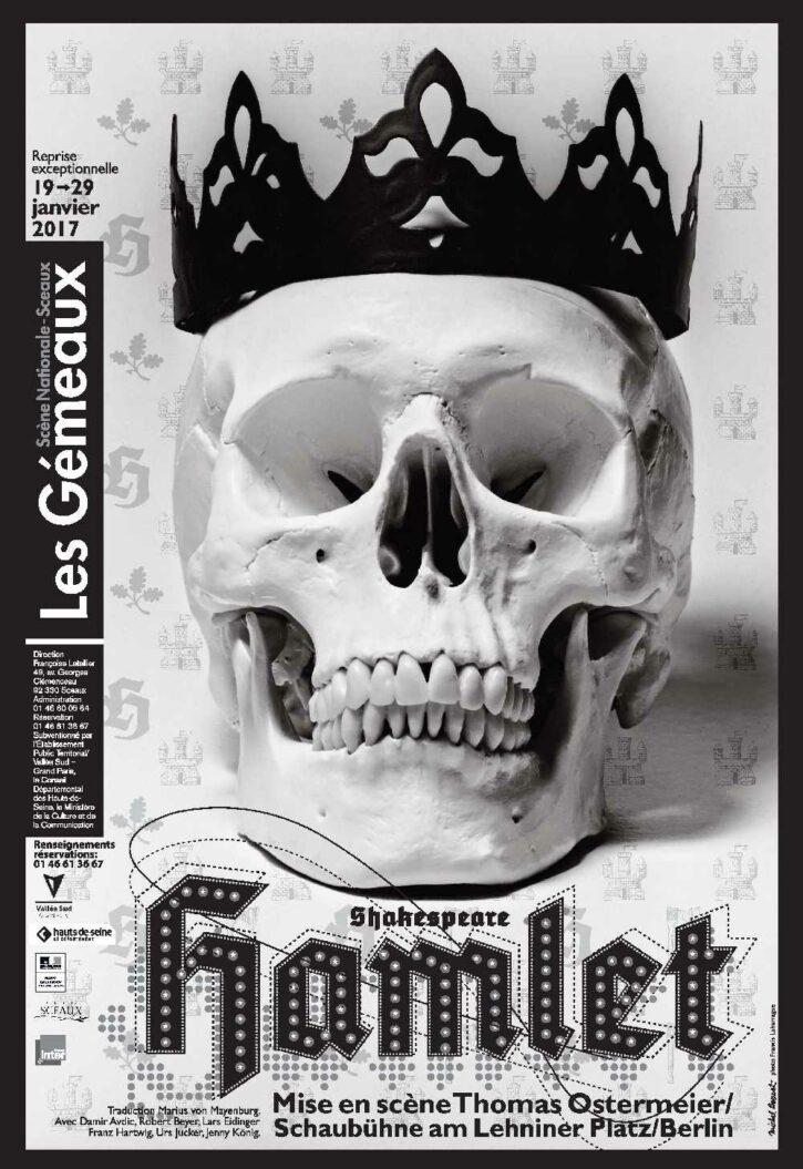 Hamlet – Affiche 70×100 cm