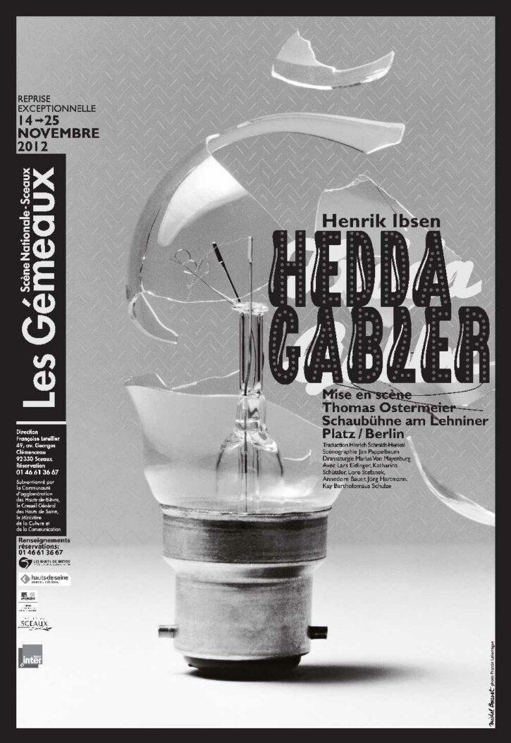Hedda Gabler – Affiche 70×100 cm