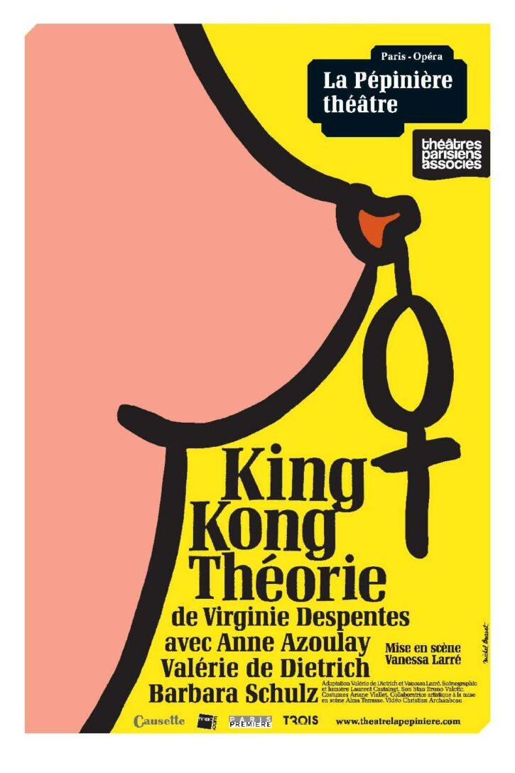 King Kong théorie – Affiche 70×100 cm