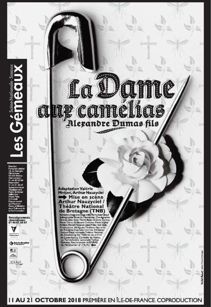 La Dame aux Camélias – Affiche 70×100 cm