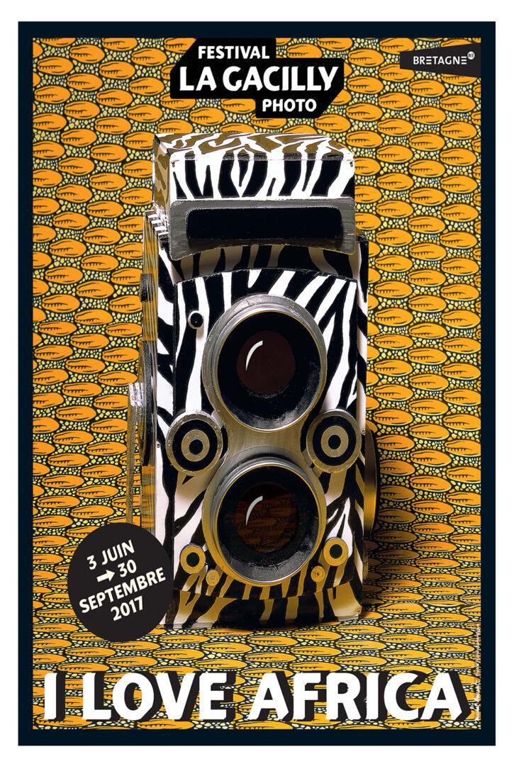 I Love Africa – Affiche 70×100 cm