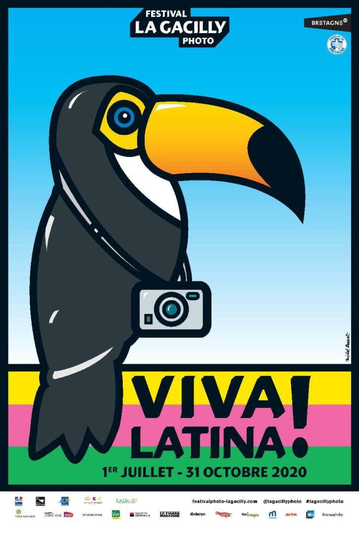 Viva Latina – Affiche 70×100 cm