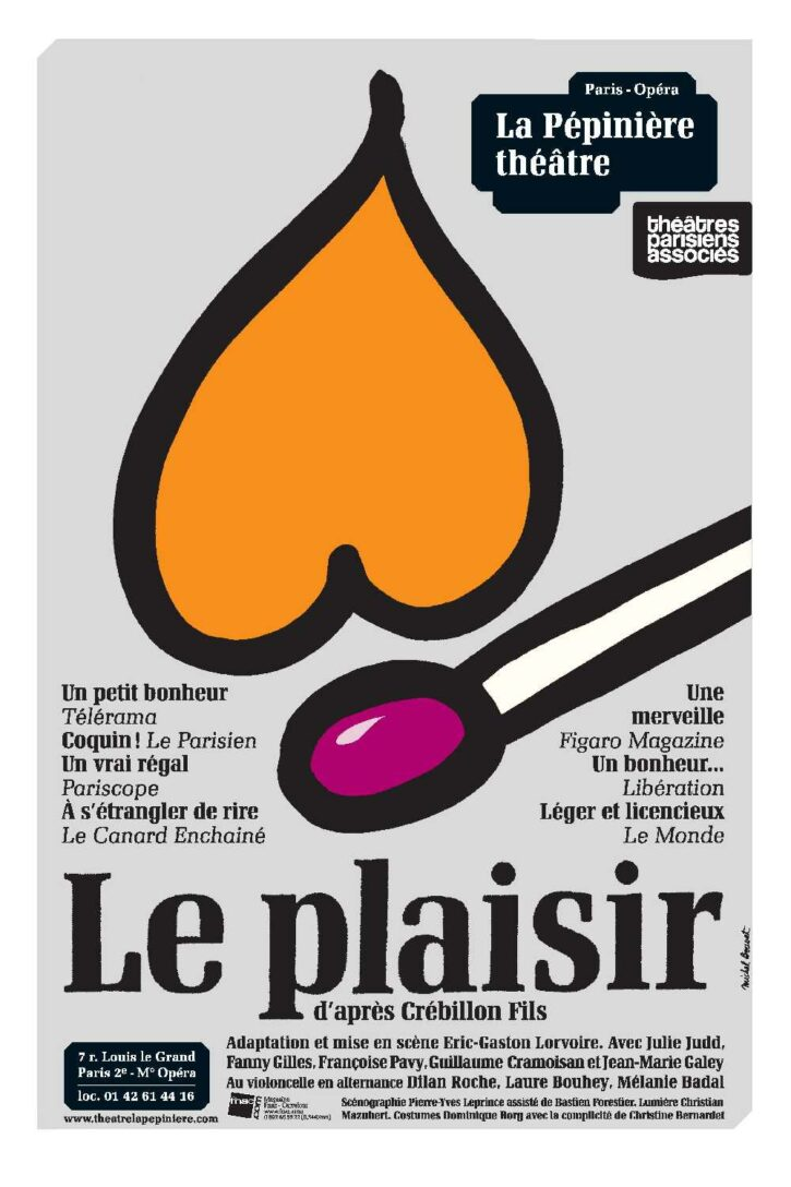 Le Plaisir – Affiche 120×176 cm