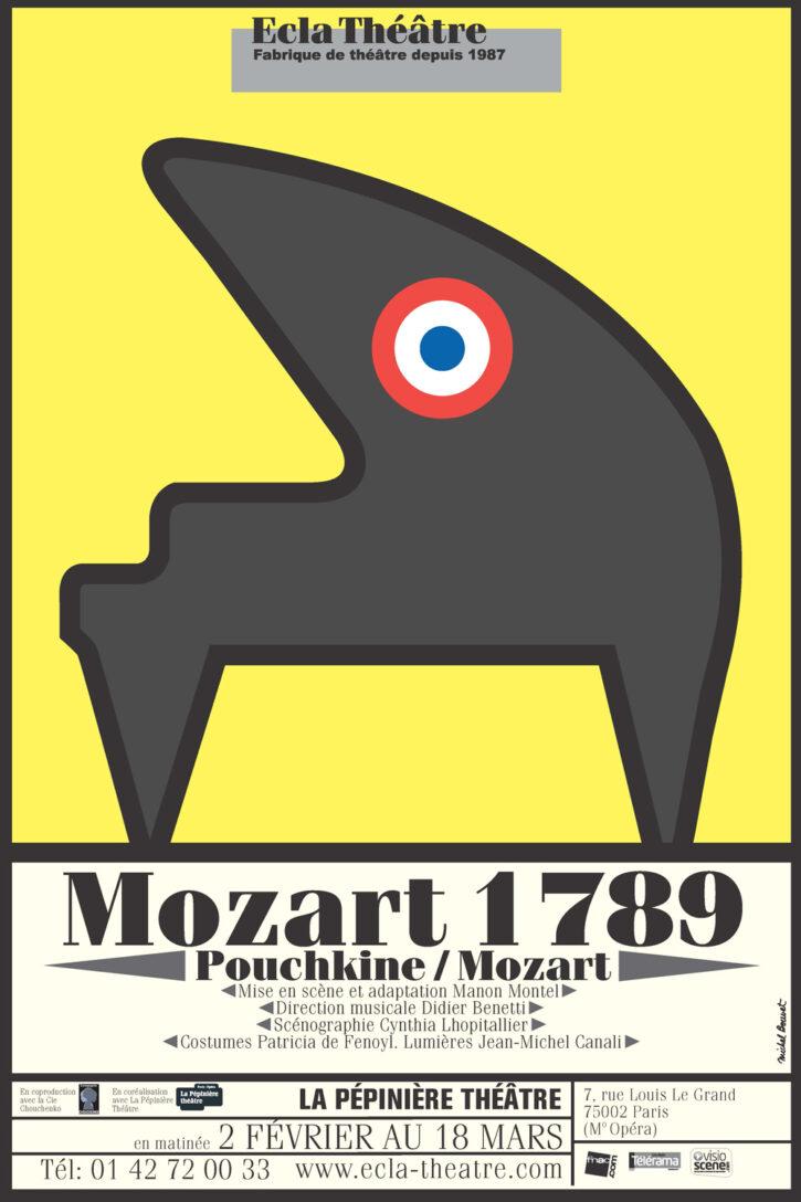 Mozart 1789 – Affiche 70×100 cm