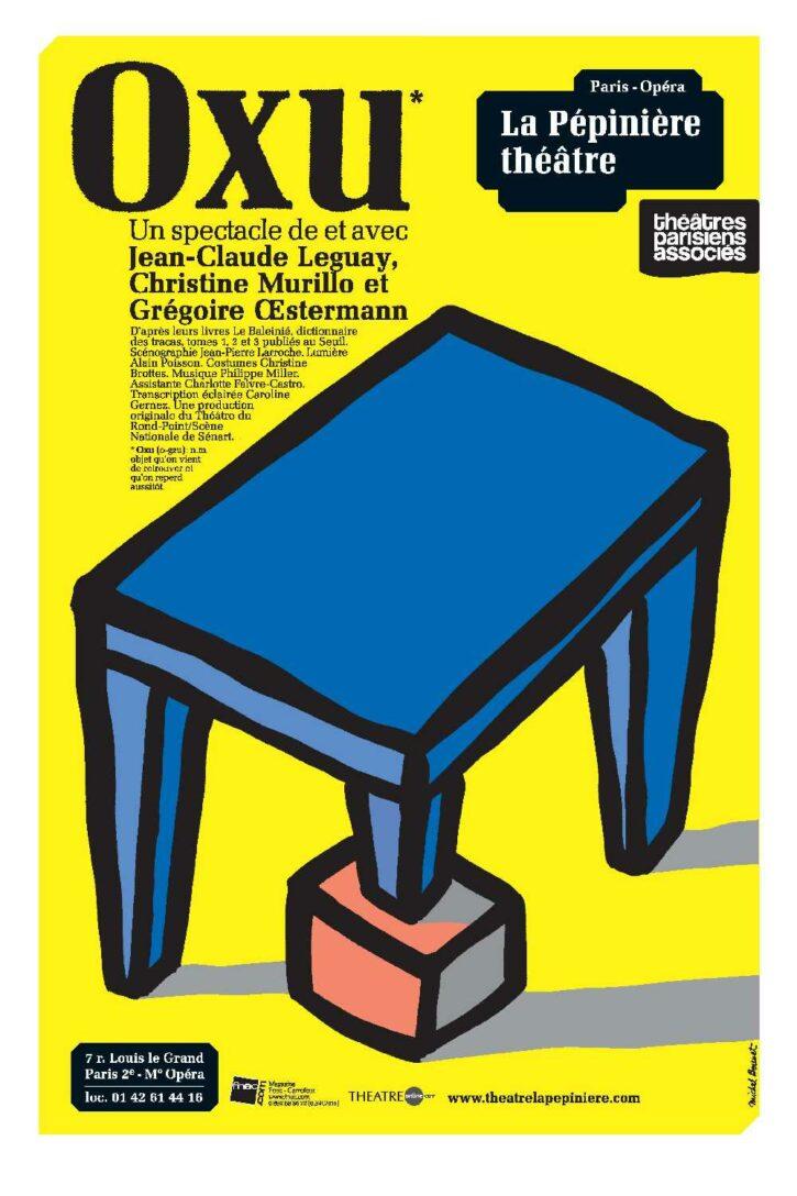 Oxu – Affiche 70×100 cm