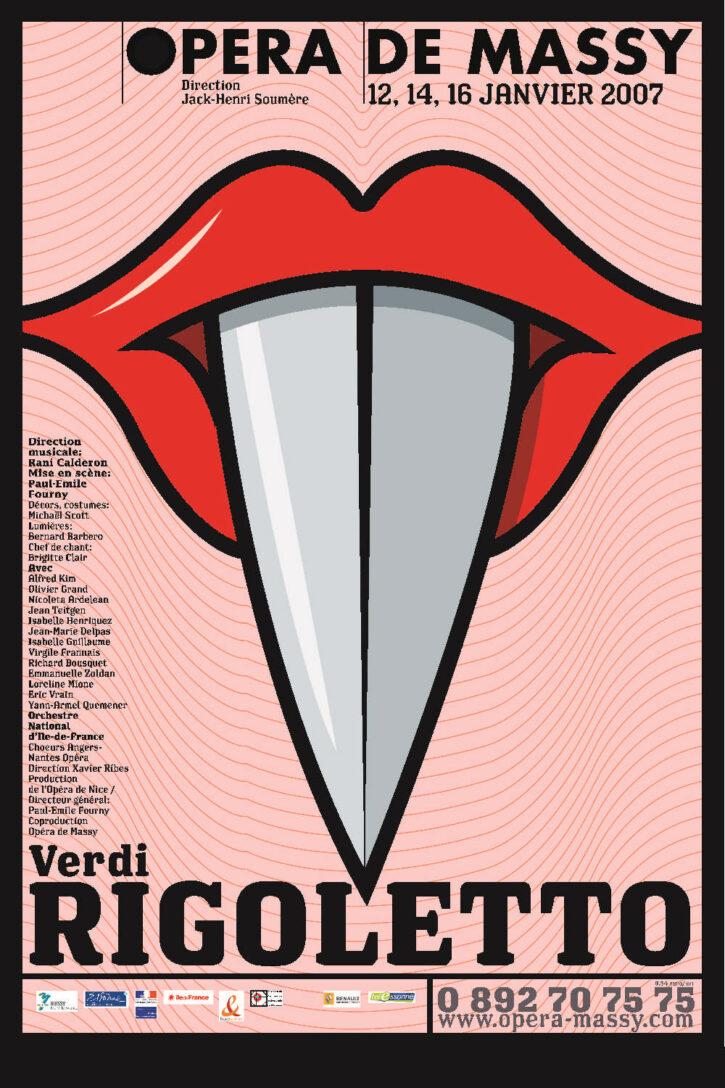 Rigoletto – Affiche 70×100 cm