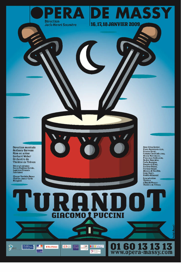 Turandot – Affiche 70×100 cm
